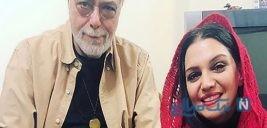 الهام پاوه نژاد در جشن تولد متفاوت اکبر زنجانپور بازیگر پیشکسوت +تصاویر