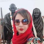عکسهای شبنم قلی خانی در مکان های خاص هندوستان