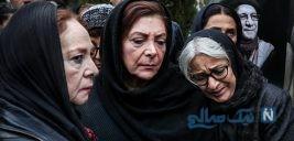 چهره ها در مراسم تشییع پیکر حسین محباهری به خانه ابدی +تصاویر