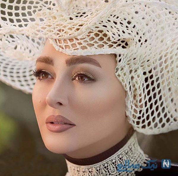 عکس های مراسم عروسی الهام حمیدی بازیگر ایرانی از حلقه تا میکاپ عروس
