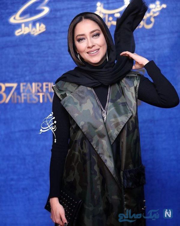 تصاویر چهره های معروف روز هفتم جشنواره فیلم فجر ۹۷ از مهناز افشار تا مریلا زارعی
