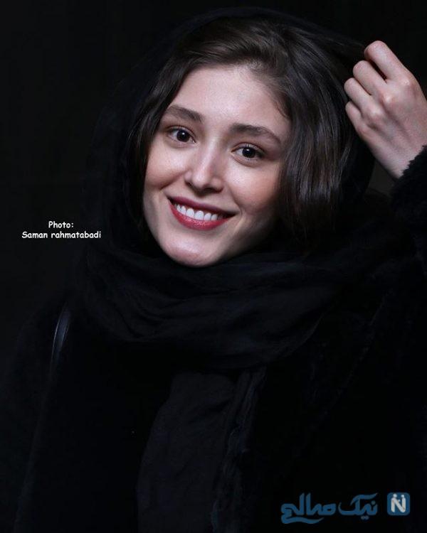 تیپ های جنجالی فرشته حسینی بازیگر جوان در اکران فیلم هایش در جشنواره +تصاویر