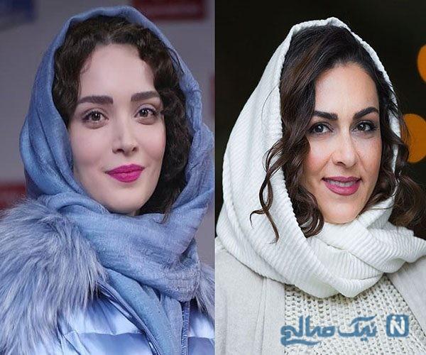 تصاویر هنرمندان در روز پنجم جشنواره فیلم فجر ۹۷ از تیپ جنجالی شیوا ابراهیمی تا زیبا کرمعلی