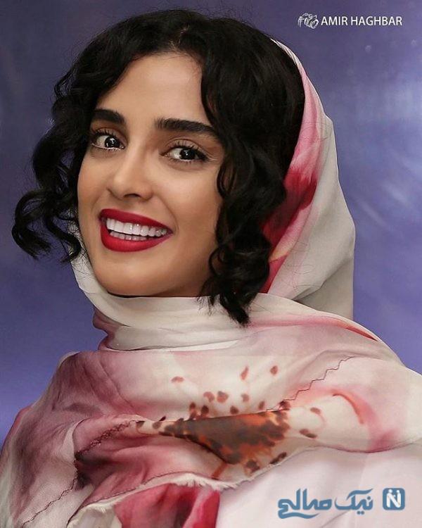 الهه حصاری بازیگر سریال حواشی توهین به افغانستانی ها از زبان الهه حصاری