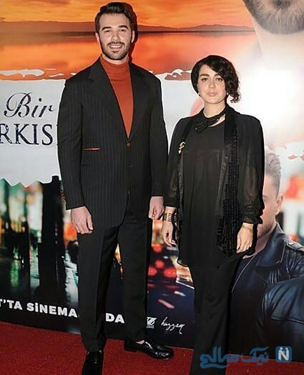 عکس های افسانه پاکرو و یوسف چیم در اکران خصوصی فیلم ترانهای عاشقانه برایم بخوان در استانبول