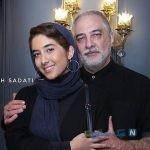 جشن تولد ۵۵ سالگی ایرج نوذری با حضور دخترش و مادرش +تصاویر