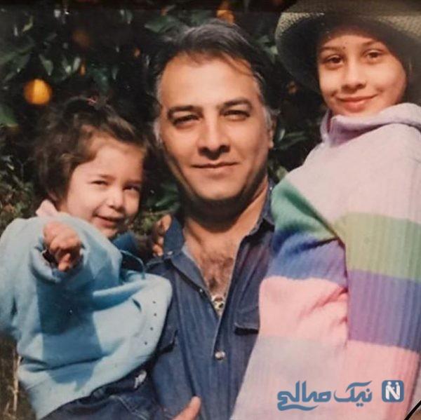 جشن تولد 55 سالگی ایرج نوذری با حضور دخترش و مادرش +تصاویر