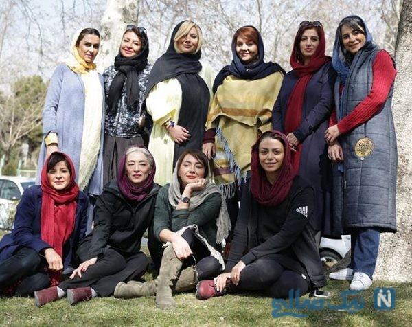 تیم اسکواش بازیگران زن