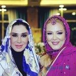 عکسهای بهاره رهنما با لباس بلوچی در مراسم اهدای نشان سفیر یک موسسه خیریه