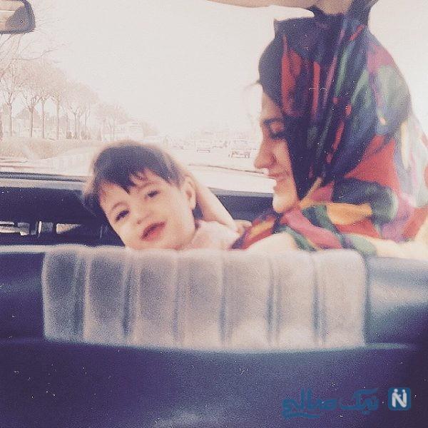 شیدا خلیق بازیگر سریال نوروزی زوج یا فرد در کنار مادر هنرمندش +تصاویر