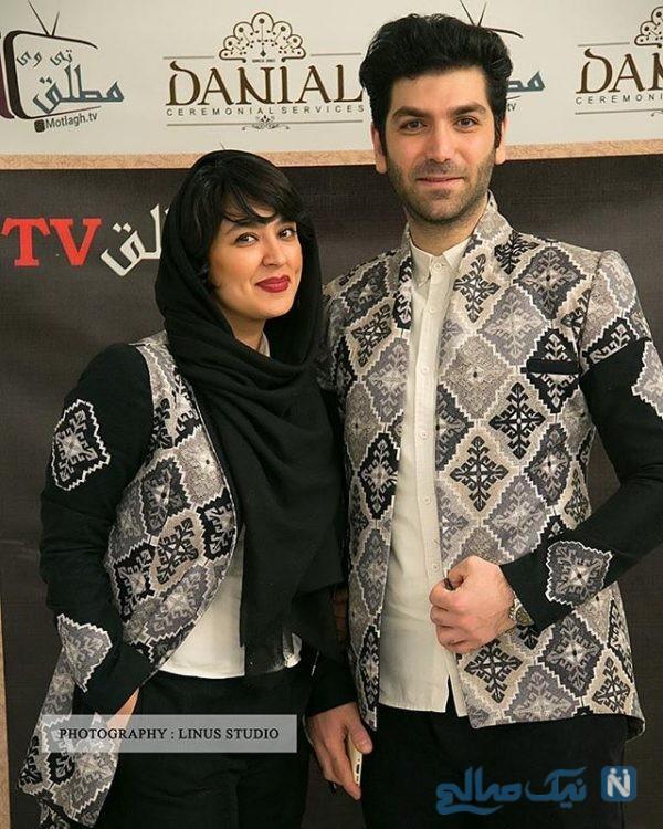 عکس های فریبا طالبی و همسرش امیر در سفر به استانبول