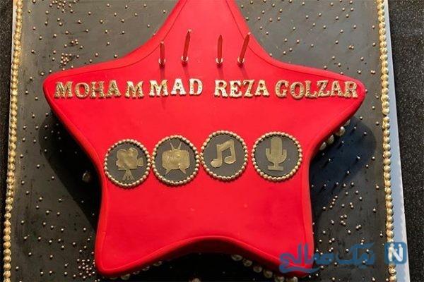 جشن تولد محمدرضا گلزار در جمع دوستانش در برنده باش +تصاویر