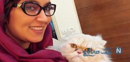 تولد فریبا طالبی در کنار همسرش با دلنوشته وی برای ۳۴ سالگی اش +تصاویر