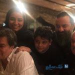 یه روز خوب و شگفت انگیز خانواده مهراب قاسم خانی در باغ وحش +تصاویر
