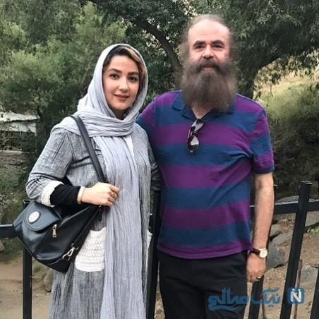 سارا صوفیانی و همسرش