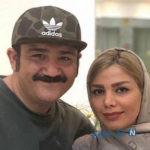 مهران غفوریان بازیگر زوج یا فرد در کنار همسر و دخترش هانا +تصاویر
