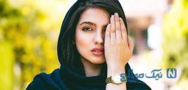 مونا کرمی بازیگر جوان نقش بنفشه در سریال دلدار +تصاویر