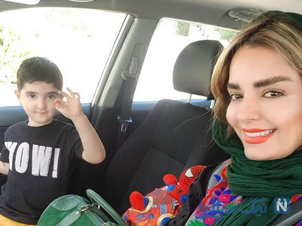 جشن تولد ۴ سالگی سانیار پسر سپیده خداوردی بازیگر ایرانی +تصاویر