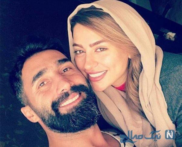 سمانه پاکدل و همسرش
