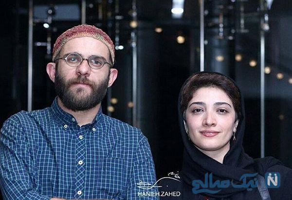 بابک حمیدیان و مینا ساداتی