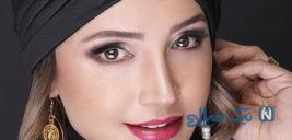 میکاپ زیبای شبنم قلیخانی بازیگر کشورمان به عنوان مدل آرایشی +تصاویر