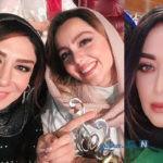 برگزیدگان و حواشی جشن حافظ ۹۸ از همسر دوم حمید و لباس امین تا تقدیر گلاب و ست عروس و مادرشوهر +تصاویر