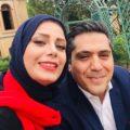 جشن تولد مانی رهنما در کنار همسرش صبا راد و جمعی از بازیگران در یک رستوران شیک +تصاویر