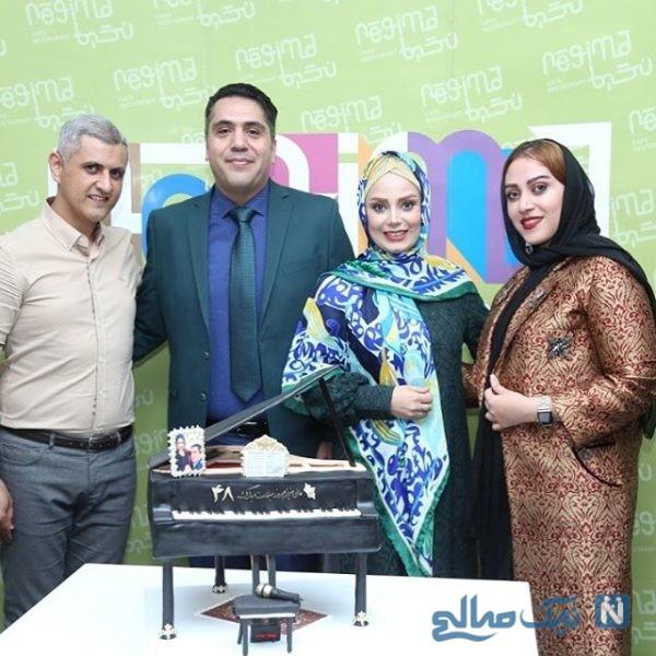 , جشن تولد مانی رهنما در کنار همسرش صبا راد و جمعی از بازیگران در یک رستوران شیک +تصاویر, آخرین اخبار ایران و جهان و فید های خبری روز