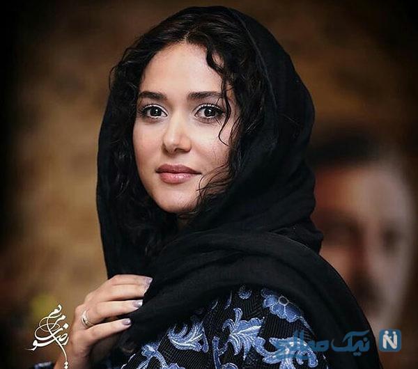 تیپ متفاوت نوید محمدزاده و پریناز ایزدیار در اکران مردمی فیلم سرخپوست +تصاویر