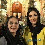 هنرمندان در مراسم لاکچری اهدای جوایز جشن حافظ ۹۸ از خانواده پژمان بازغی تا نسیم ادبی و همسرش +تصاویر