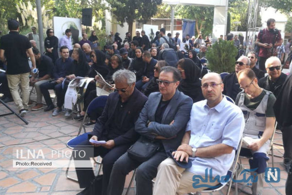 تشییع جنازه داریوش اسدزاده
