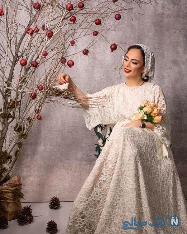 عکس های عروسی فرشته آلوسی