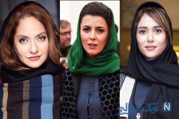 رقابت ستاره های سینمای ایران از لیلا و الناز تا سحر و باران +تصاویر