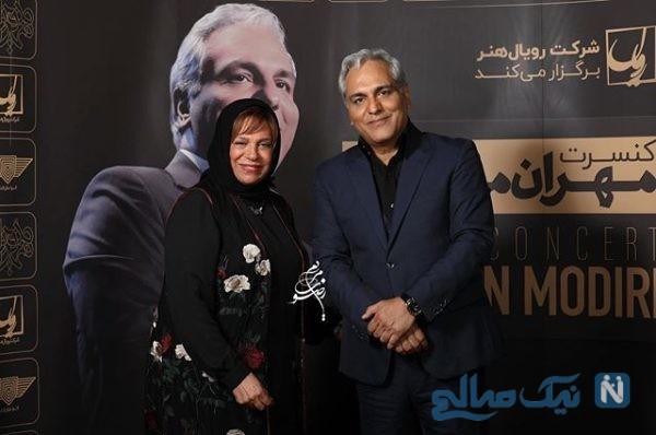 هنرمندان در کنسرت مهران مدیری