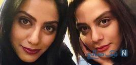 تیپ خاص مارال و مونا فرجاد خواهران بازیگر در موزه آرمیتاژ +تصاویر