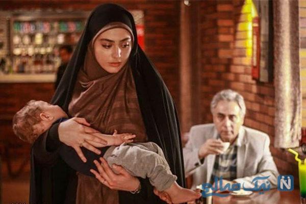 کافه گردی ریحانه پارسا بازیگر ایرانی در جزیره هرمز +تصاویر