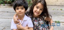 فرزندان بازیگران در اولین روز مدرسه از نبات تا حنا و آروین +تصاویر