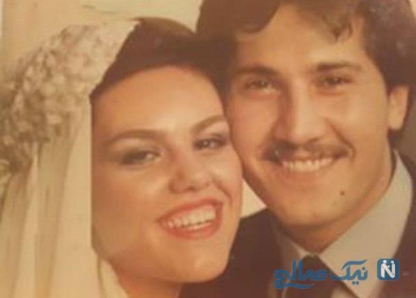 سالگرد ازدواج افسانه چهره آزاد