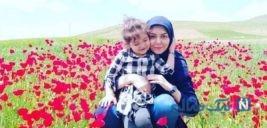 جشن متفاوت تولد دختر آزاده نامداری مجری مشهور ایرانی +تصاویر