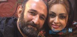 چهارمین سالگرد ازدواج هدایت هاشمی و همسرش مهشید ناصری +تصاویر