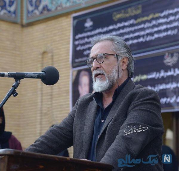تشییع پیکر مجید اوجی