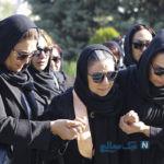 مراسم تشییع پیکر مجید اوجی با حضور چهره های سرشناس