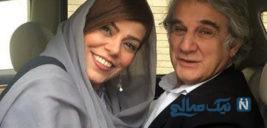 تولد مهدی هاشمی و عاشقانه همسر دومش مهنوش صادقی