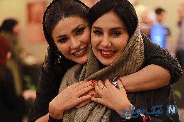 تولد شیدا یوسفی بازیگر سریال ممنوعه در کنار دوستان بازیگرش