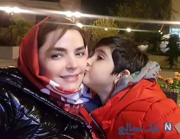 سفر سپیده خداوردی بازیگر سینما با همراه همیشگی اش سانیار