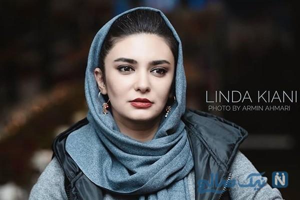سفر لیندا کیانی بازیگر سریال مانکن به ایتالیا با تیپی متفاوت