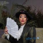 تیپ متفاوت سارا منجزی بازیگر جذاب به عنوان مدل برندهای مختلف