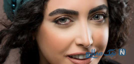 مدلینگ ساناز طاری بازیگر سریال فوق لیسانسه ها