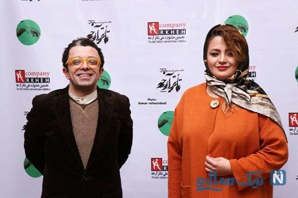 مراسم اختتامیه جشنواره تئاتر آرخه با حضور چهره های مشهور هنری