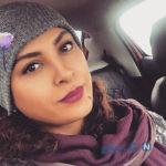 عکس های حدیثه تهرانی بازیگر سریال وارش در کنار دریا